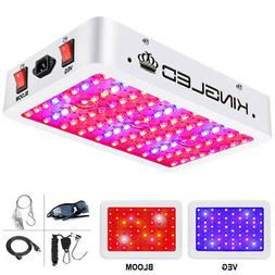 KING 1000W LED Grow Light Full Spectrum for Greenhouse Indoo