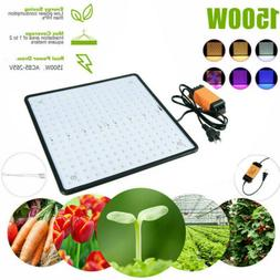 1500W 225LEDS Plant Grow Lights Hanging Kit for indoor Hydro