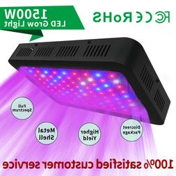 1500W LED Grow Light for Indoor Hydroponic Plants All Growth