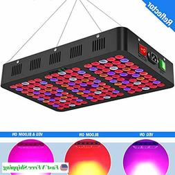 Mieemclux 1500W LED Grow Light with Reflector, Triple-Chips