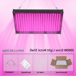 2000W LED Grow Lights For Indoor Plants Full Spectrum Hydrop