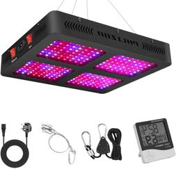 Phlizon 2200W Double Switch Series Plant LED Grow Light for