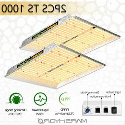 2PCS Mars Hydro TS 1000W Led Grow Light for Indoor Plant Ful