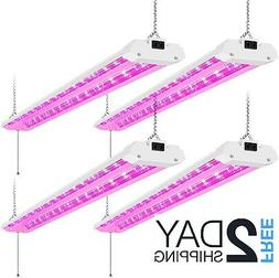 AntLux 4FT LED Grow Lights 50W Full Spectrum Integrated 4 Fo