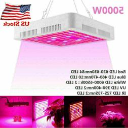 5000W LED Grow Light Full Spectrum Hydroponic Indoor Plant F