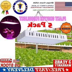 5PCS 1500W DIY LED Grow Light For Indoor House Hydroponic Ve