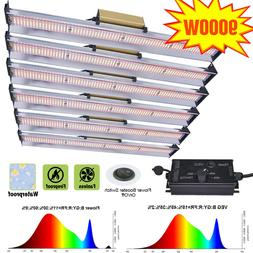 9000W LED Grow Light Bar Full Spectrum For All Stage Indoor