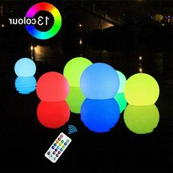 Floating Swimming Pool LED Light Growing Ball 13 Color Chang