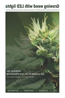 G K-Growing Weed W/Led Lights BOOK NEW
