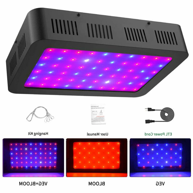 led grow light 1000w for indoor plant
