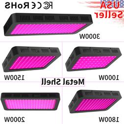LED Grow Light 3000W 2000W 1800W 1500W 1000W Full Spectrum V