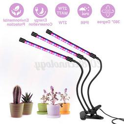 LED Grow Light Plant Growing Lamp Lights with Clip Indoor Pl