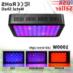 LED Grow Lights 1000W Full Spectrum Hydroponics Plant Light