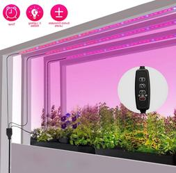 LED Grow Lights for Indoor 24W Sunlike Plant Lights with Aut