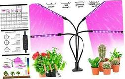 LED Grow Lights for Indoor Plants, JUEYINGBAILI 80W Full Spe