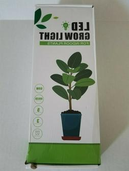 LED Growing Light for Indoor Plants 60W with Automatic Timer