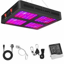 Phlizon 1200W Double Switch Series Plant LED Grow Light for