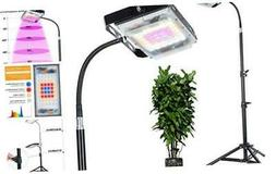 SUNICO LED Grow Light for Indoor Plants,Floor Lamp with Goos