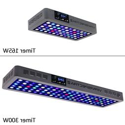 VIPARSPECTRA Timer Control 165W 300W LED Aquarium Light For